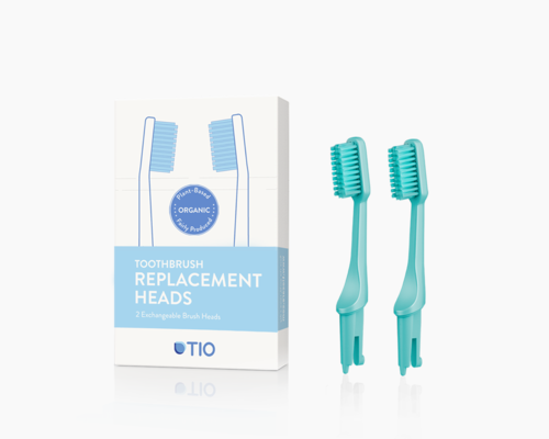 TIO Replacement heads | TIO Replacement heads (double pack) | Artikelnummer: 02-02E