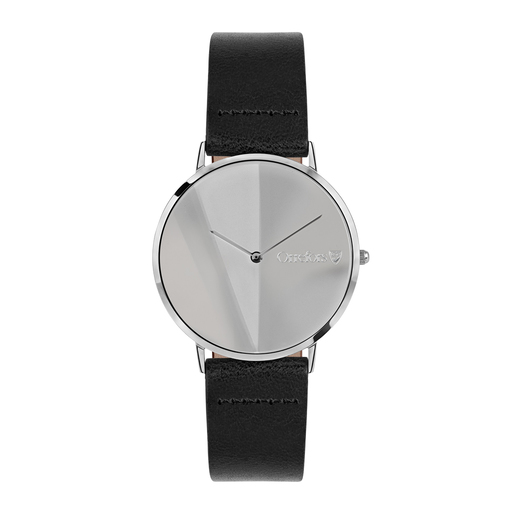 Orrefors O-Time Black - dial mirror
