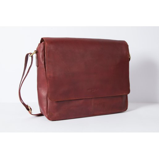 Messenger Bag (M) | Maroon-Brown | Artikelnummer: HR-SA-2-1_rb