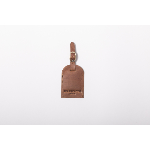 Luggage tag | Camel-Brown | Artikelnummer: HR-AT-1-1_c