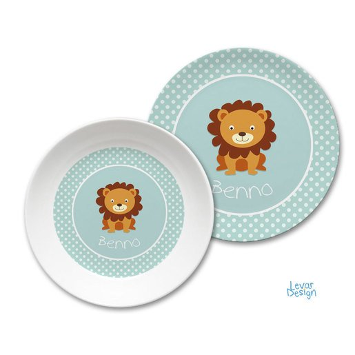 Kindergeschirr Set Dots mint |  | Artikelnummer: 121091955 -1