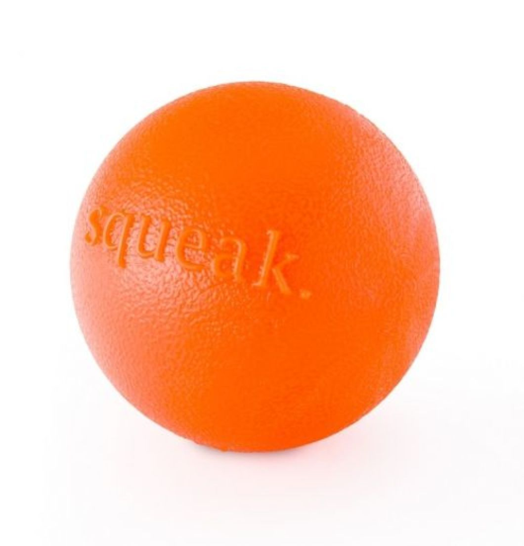 Planet Dog Squeak Ball Orange