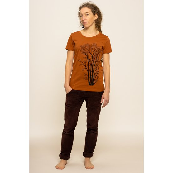 Erle mit Elster T-Shirt   | roasted orange | Artikelnummer: Cmig116