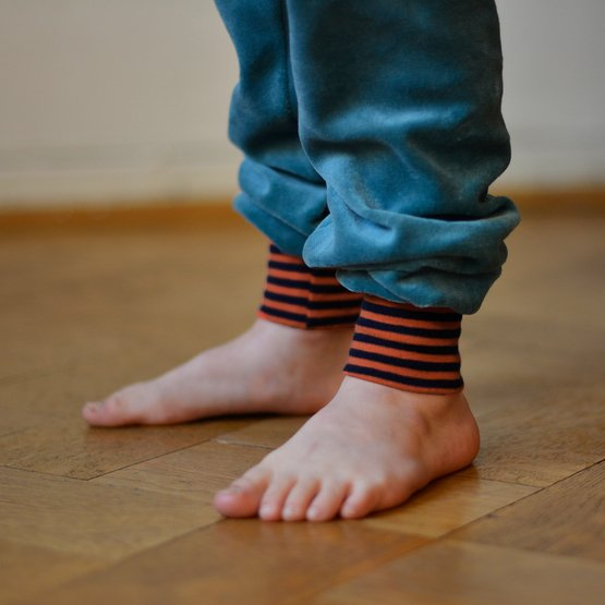 Baby Nickihose 56/62 | seagreen/orange-navy | Artikelnummer: Cmig434