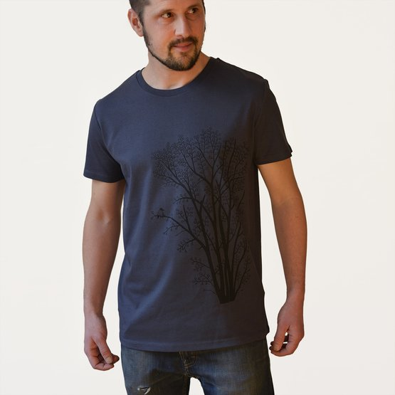 Klibbal med Skata T-shirt | india ink grey | artikelnummer: Cmig223