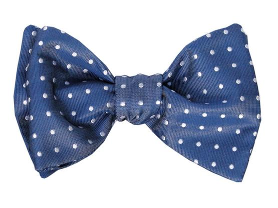 Bow Tie Blue Dots | Product code: 4006