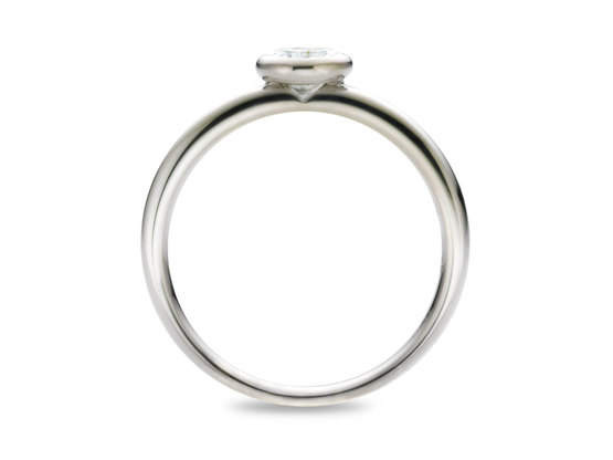 Diamantring Grazil 0.50 Karat in Premium Qualität | 950er Platin - Brillant in G - VS1 | Artikelnummer: GRAPT050G