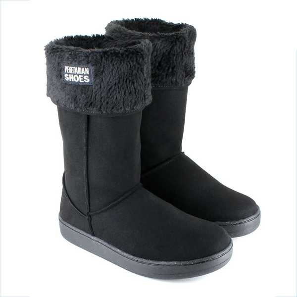 VEGETARIAN SHOES Winterstiefel HIGHLY SNUG/SNUGGE BOOT black