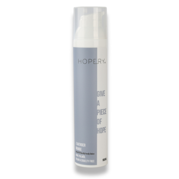 HOPERY Bodylotion LAVENDEL ORANGE 100ml (9,90€/100ml)