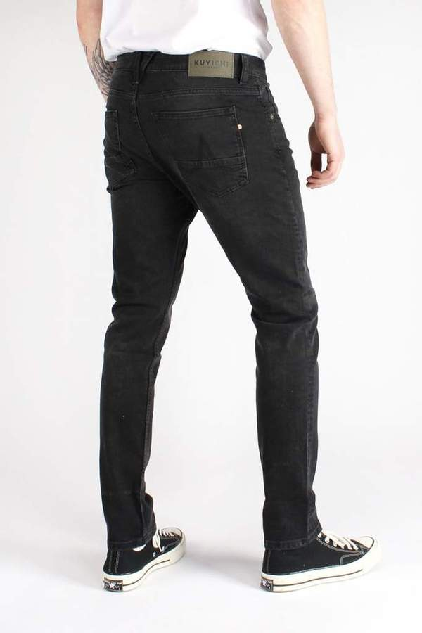 KALE SKINNY BLACK USED