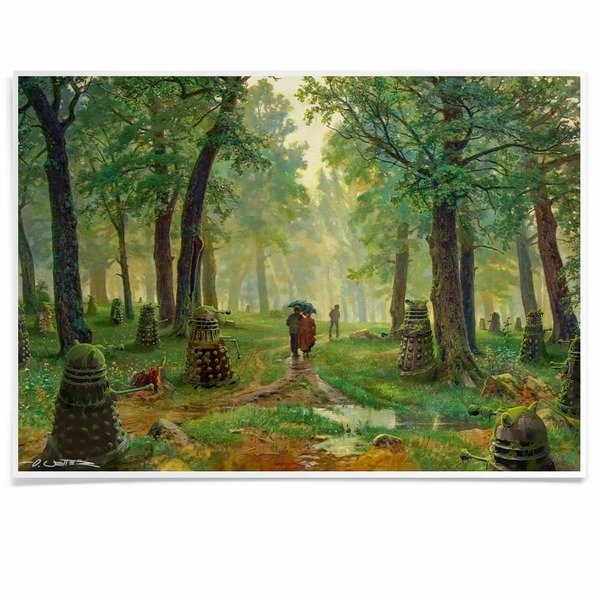 Forest of Daleks print