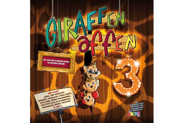Giraffenaffen 3  | Various Artists | Artikelnummer: 329