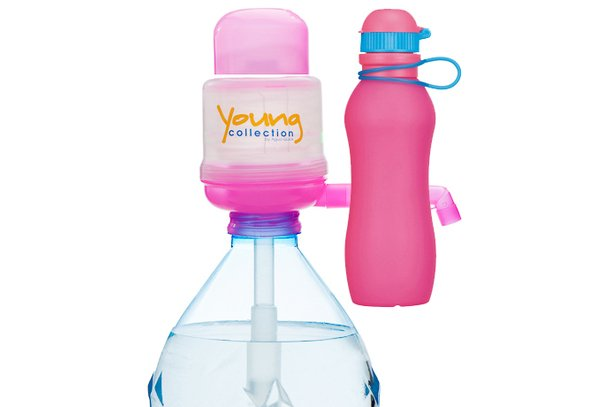 Paquet Special SP  1 pink 500 pink |  1 Pump Young Collection pink plus Viv Bouteile 500ml pink | numéro d'article: 1 YCP plus VIV SP  pink
