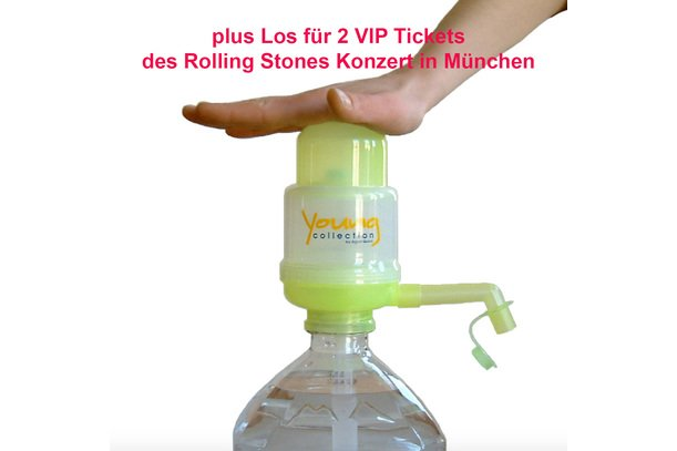 Young Collection plus Los für Vip Tickets für Rolling Stones Konzert (Kopie) | Young Collection Gelb | Artikelnummer: YCYVTRSK