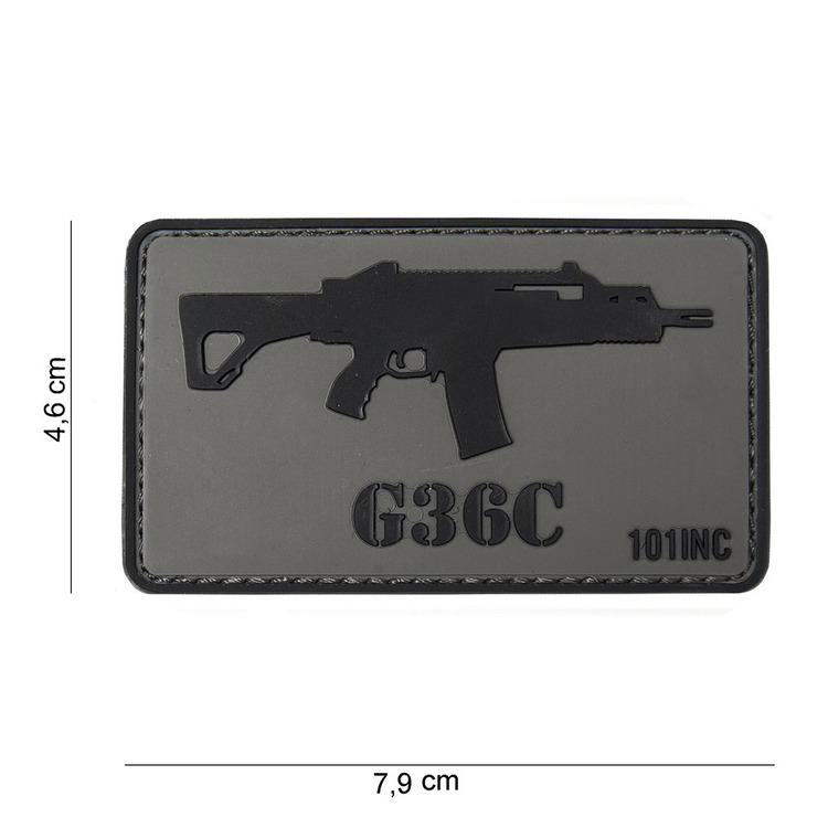 Waffenpatch, G36C | 3D Rubberpatch | Artikelnummer: INC3765
