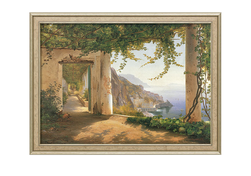 "Carl Frederic Aagaard: Bild ""View to the Amalfi Coast"""