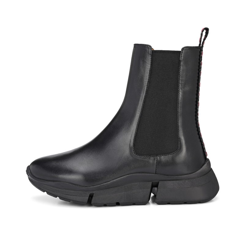 CRICKIT-Chelsea Boot Stiefelette-LAURIE Schwarz