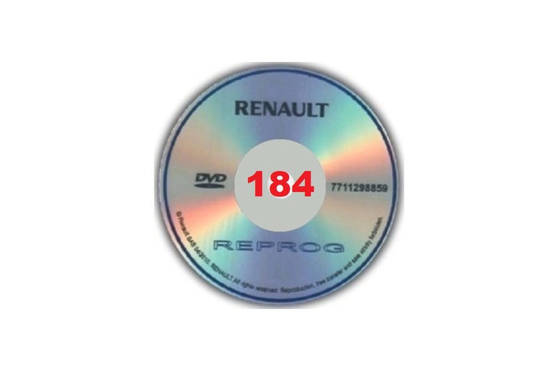 renault clip keygen 184