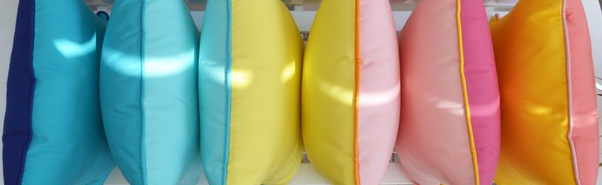 Bunte Outdoor Kissen, Happy Cushions (BODHCK-3C)