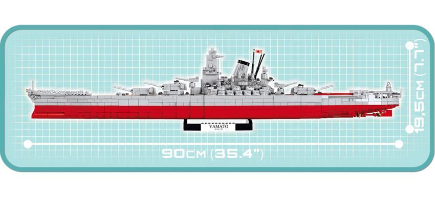 Battleship Yamato - Cobi 4814 - klemmbaustein24