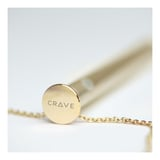 Crave - Vesper Vibrator Necklace Gold