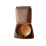 BURGER-BOX, Hamburger Verpackung, Öko Style, eco friendly