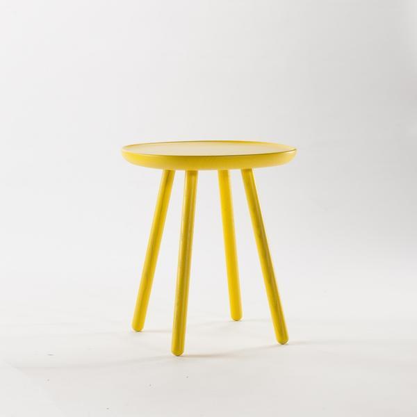 beistelltisch aus holz gelb emko. Black Bedroom Furniture Sets. Home Design Ideas