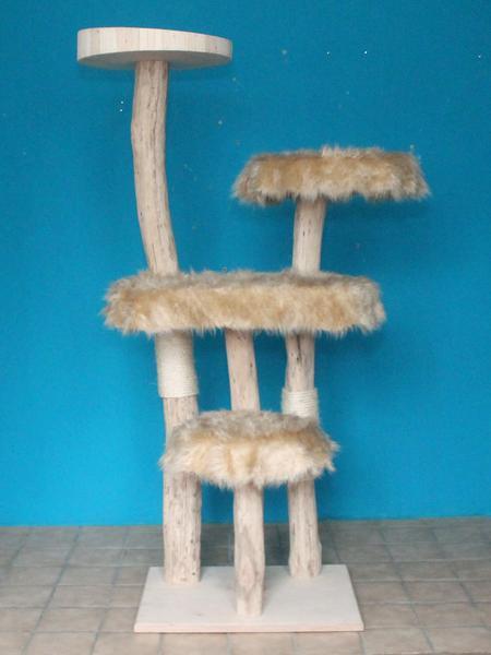 kratzbaum naturholz 195 cm naturkratzbaum 0604 diworo naturholz design. Black Bedroom Furniture Sets. Home Design Ideas