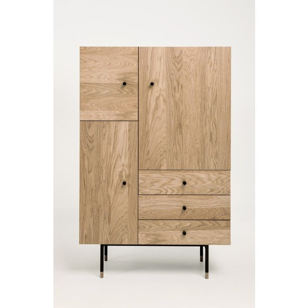 Highboard modern Holz & Metall