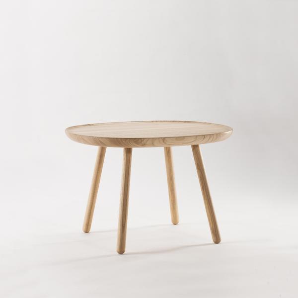 Runder Beistelltisch Aus Holz Grau Emko