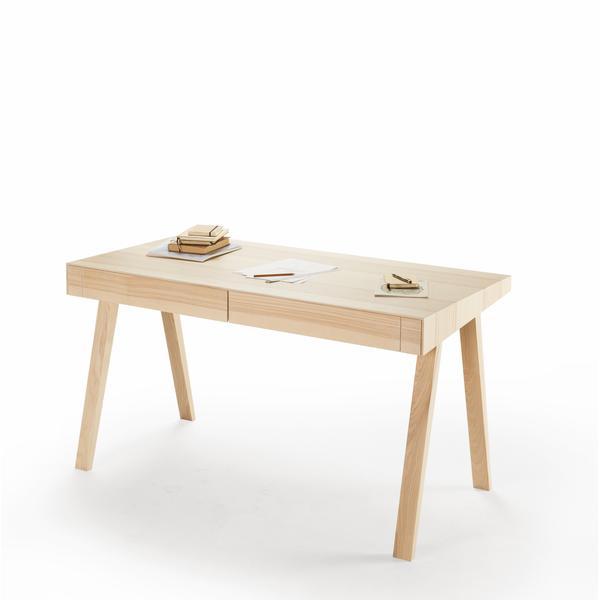 Design Schreibtisch Aus Holz Online Kaufen
