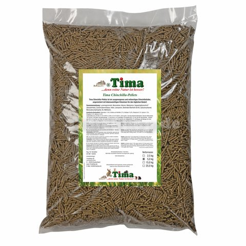 Tima Chinchilla-Pellets Premium 5 kg