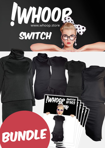 !Whoop Switch Black Bundle