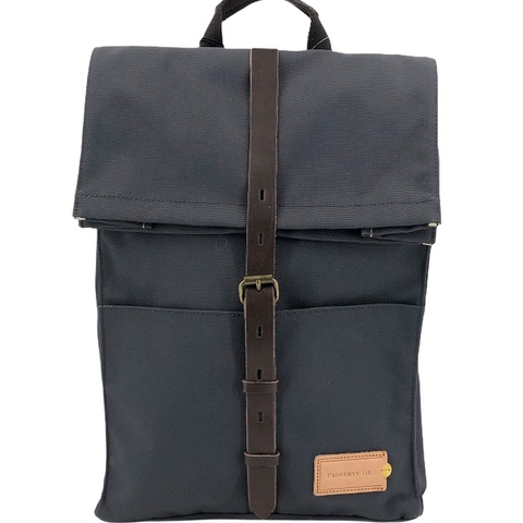 Property Of Rucksack ALEX 24h  grau, stone blue/dark brown