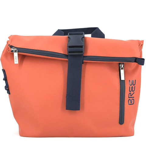 Bree Punch 722 Messenger Bag, pumkin orange - Vorderansicht