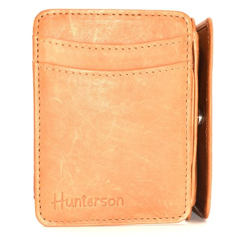 Hunterson Magic coin Wallet, cognac