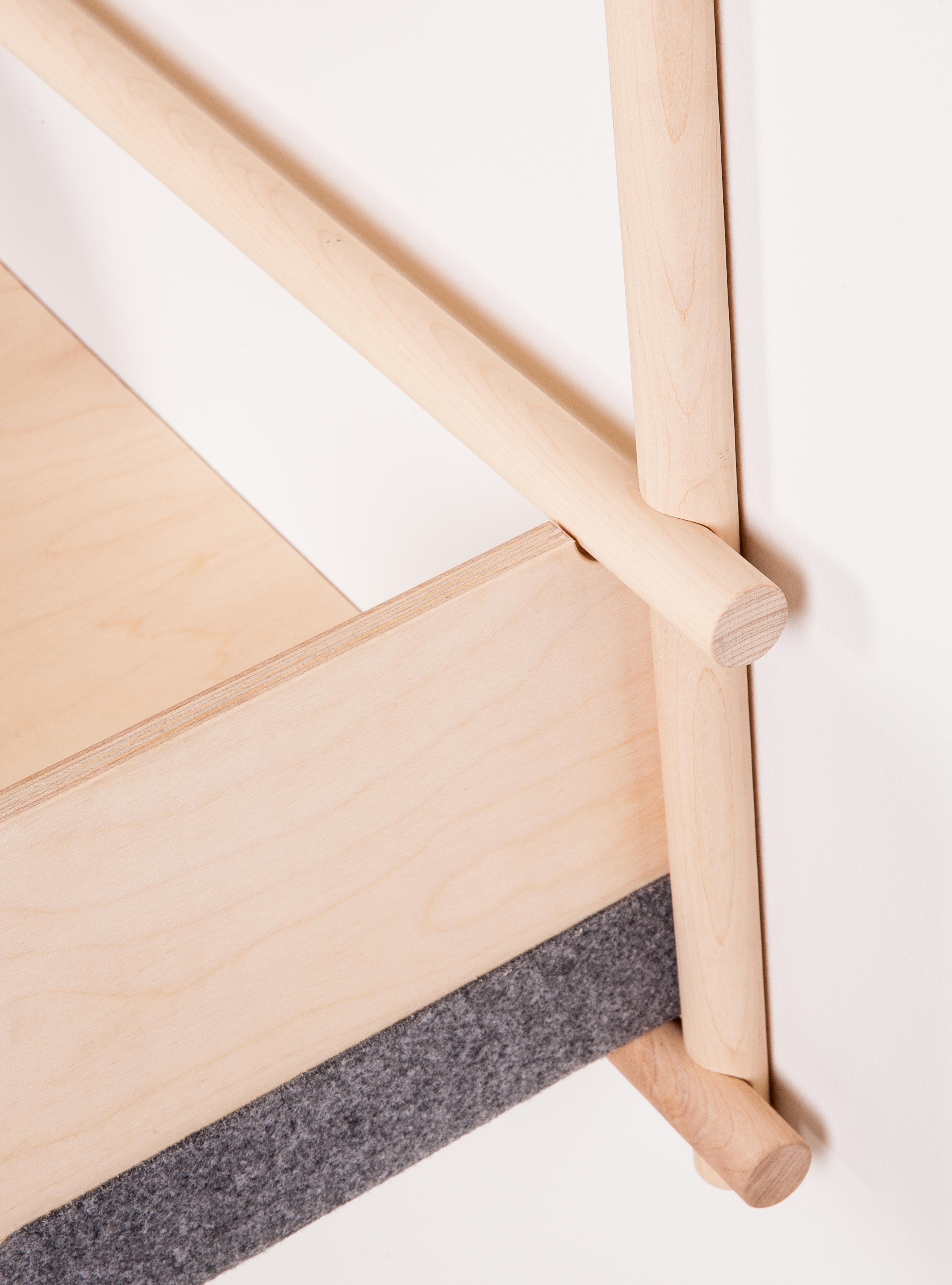 Wandregal Foldin Aus Holz